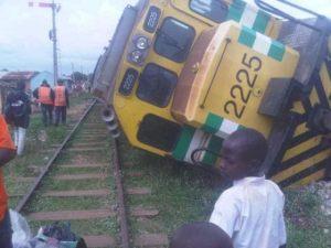 Train Accident In Jaji Kaduna Today [See Photos]